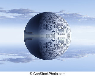 Circuits on a sphere