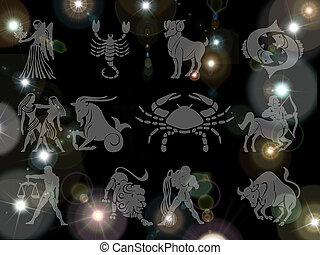 Astrological constellations
