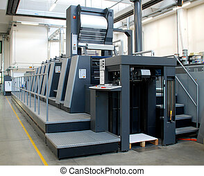 Offset press is a printing machine designed to produce fine...