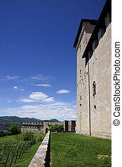 Angera Castle - Fortress (Rocca Borromeo)