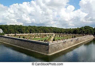 Chenonceau - Castle and garden - The Chteau de Chenonceau,...
