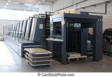 Press printing - Offset machine - Offset press is a printing...