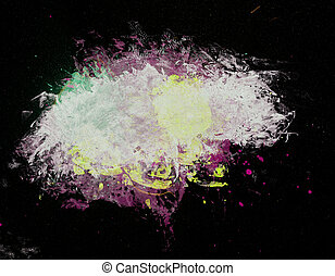 Abstract paint texture background