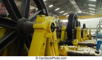 Industrial Machine - Giant gear in a sugar mill