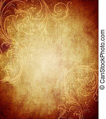 Vintage Paper Background - Vintage paper background with...