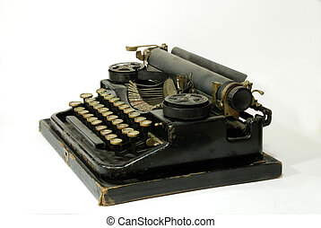 Old typewriter - A typewriter is a mechanical or...