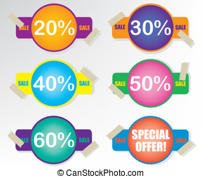 Sale coupon badge