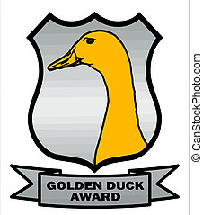 Cricket Golden Duck Award Shield VB - Cricket Golden Duck...