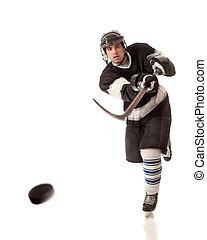 hockey, jugador