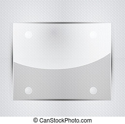 Vector glass plate