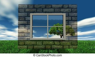 Window to the outdoors