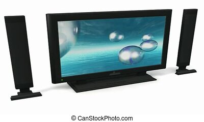 3D television and sound system