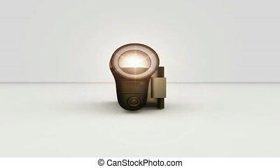 Video camera spinning