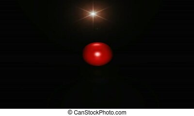 Red ball and star