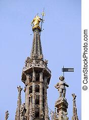 Milan Cathedral, detail