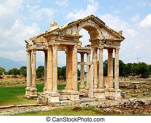 Aphrodite's temple - Aphrodisias, Turkey - Aphrodite's...