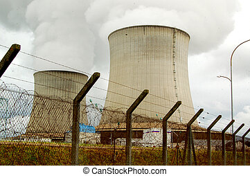 Nuclear Power Station - France, Saint-Laurent