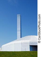 Factory - Modern incinerator