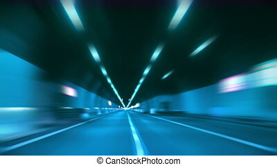 tunnel abstract speed 12