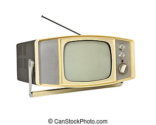 Vintage Admiral Portable B&W TV Black and White Television ...  |1960s Portable Televisions