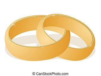 Plexus wedding ring
