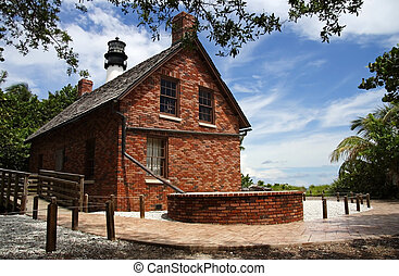 Keepers Quarters - Cape Florida Light, Bill Baggs State...