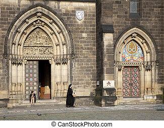 Prague - Vysehrad - Prague - St Peter and St Paul Church