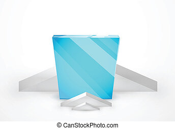 Vector ad stand