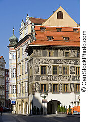 Prague - Minute House at Old Town Square