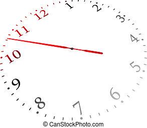 Vector Transparent Clock