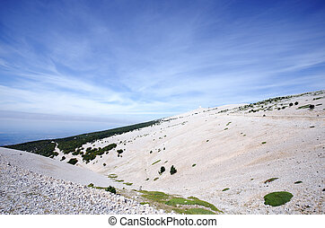 ventoux - the mount ventoux in France