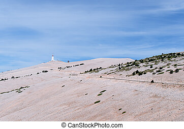 mount Ventoux - the mount ventoux in France
