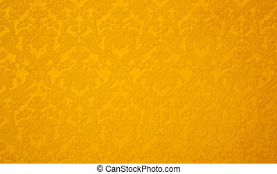 Abstract floral fabric pattern