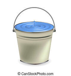 a bucket of water for your design