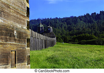 Fort Ross and Chuch