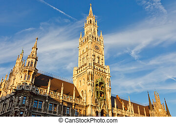 New Town Hall in Munich