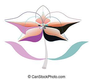 Artistic flower