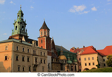 Cracow - Beautiful Wawel in polish Cracow