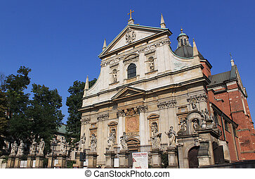 Cracow - St. Peter's and St. Paul's Church in Cracow