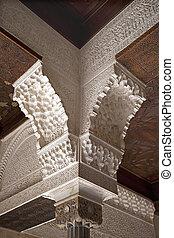 Alhambra column detail