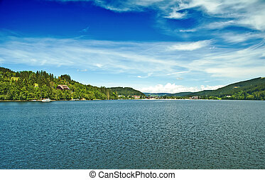 Titisee im Schwarzwald - Lake Titisee in the German Black...
