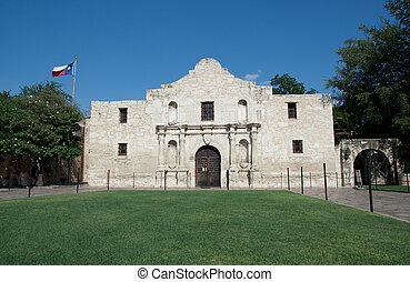 Alamo - Main entrance to the Alamo in San Antonio Texas