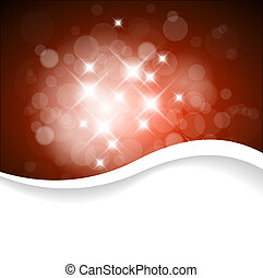 Vector red background with place for your text