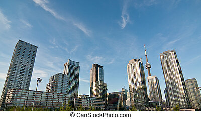 Toronto Skyline - A shot of the Toronto skyline