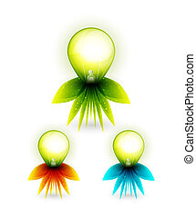 Green energy concept - Vector illustration for your design