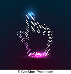 Vector cursor - Vector illustration for your design