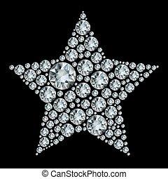 Star in diamonds.