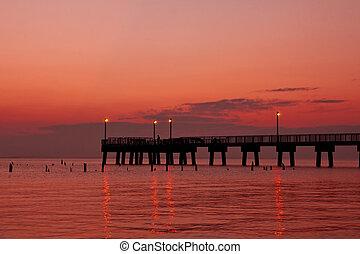 Fishing Pier Morning