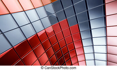 Darck 3d futuristic abstraction background