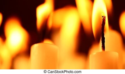 Candles - Close up of Candles
